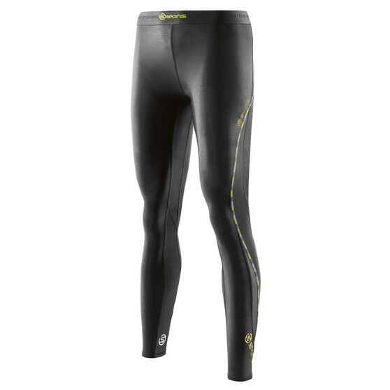 Skins Womens DNAmic Compression Tights, Black, rebel_hi-res