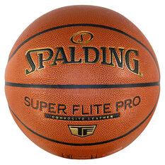 Splading Super Flite Pro Basketball Orange 5, Orange, rebel_hi-res