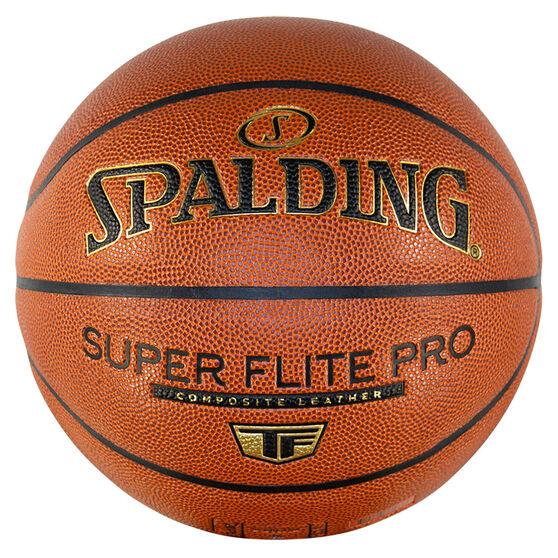 Splading Super Flite Pro Basketball, Orange, rebel_hi-res