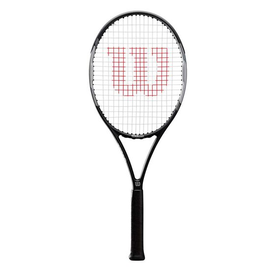 Wilson Pro Staff Precision Tennis Racquet, Black / Grey, rebel_hi-res