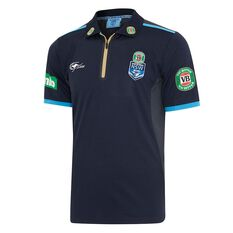 NSW Blues 2017 State of Origin Mens Team Polo Shirt, , rebel_hi-res