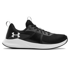 Under Armour Charged Aurora Womens Training Shoes, Black / White, rebel_hi-res