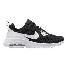 Nike Air Max Motion Low Boys Casual Shoes Black / White US 4, Black / White, rebel_hi-res