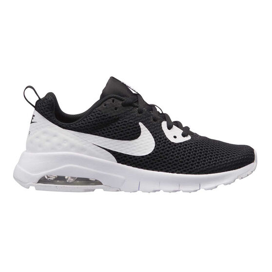 the latest 1de21 02a02 Nike Air Max Motion Low Boys Casual Shoes Black   White US 6, Black