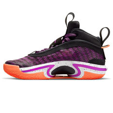 Air Jordan 36 Kids Basketball Shoes Black US 4, Black, rebel_hi-res