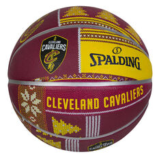 Spalding NBA Cavaliers Ugly Sweater Basketball 7, , rebel_hi-res