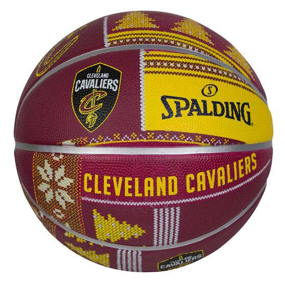 Spalding NBA Cavaliers Ugly Sweater Basketball 7, , rebel_hi-res