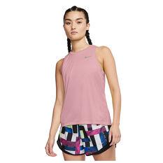 Nike Womens Miler Tank Pink XS, Pink, rebel_hi-res