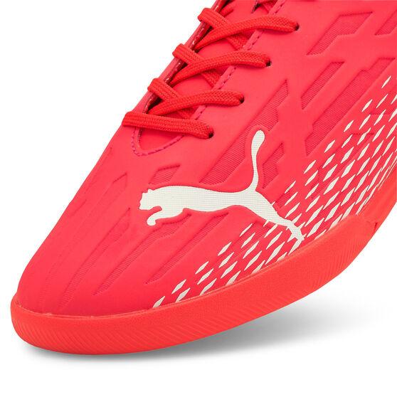 Puma Ultra 4.3 Indoor Soccer Shoes, Red/Blue, rebel_hi-res
