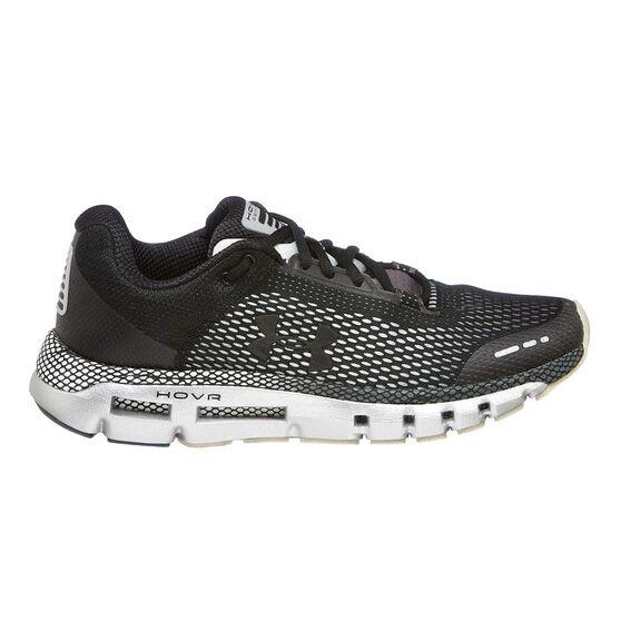 Under Armour HOVR Infinite Mens Running Shoes, Black / Grey, rebel_hi-res