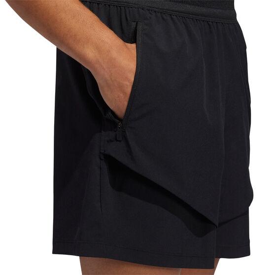 adidas Mens Studio Tech Shorts, Black, rebel_hi-res