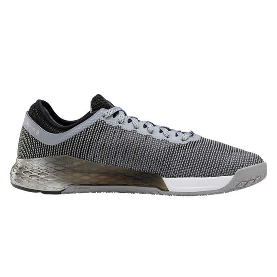 Reebok Nano 9 Mens Training Shoes, Grey / Black, rebel_hi-res