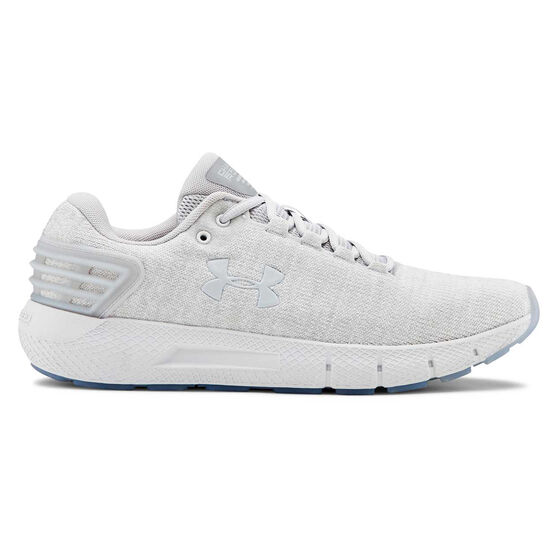 Under Armour Charged Rogue Twist Mens Running Shoes, Grey, rebel_hi-res