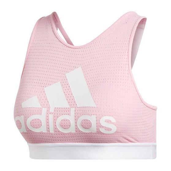 94eb0c9d445e9 adidas Womens 2.0 Halter Logo Sports Bra