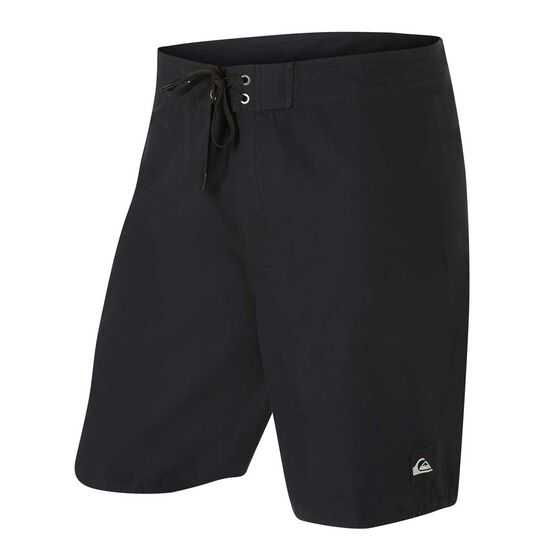 Quiksilver Mens Everyday Solid 19in Board Shorts, Black, rebel_hi-res