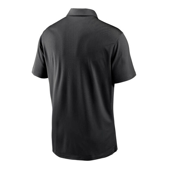 Pittsburgh Steelers 2020 Mens Logo Essential Polo, Black, rebel_hi-res