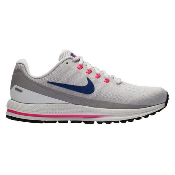 Nike Air Zoom Vomero 13 Womens Running Shoes, Grey, rebel_hi-res