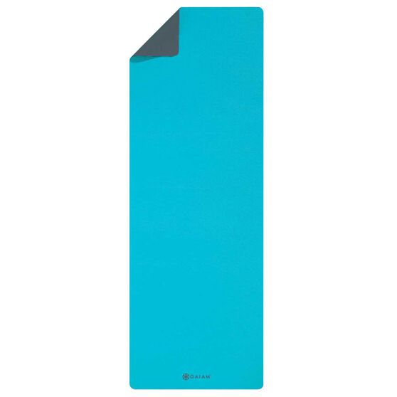Gaiam SFTGRP TPE 4mm Yoga Mat Sky Grey Sky Grey 4mm