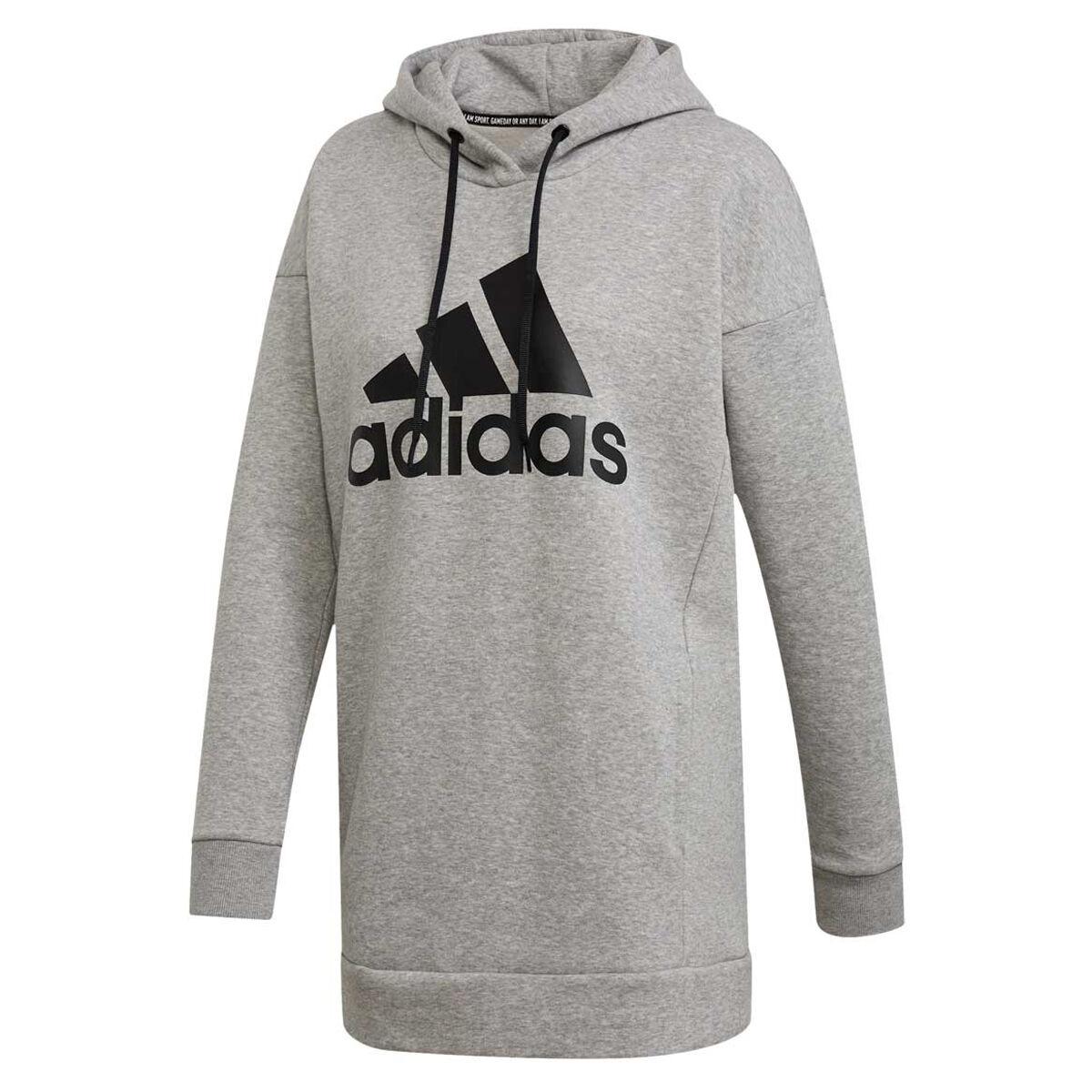 adidas Womens Badge Of Sport Logo Hoodie