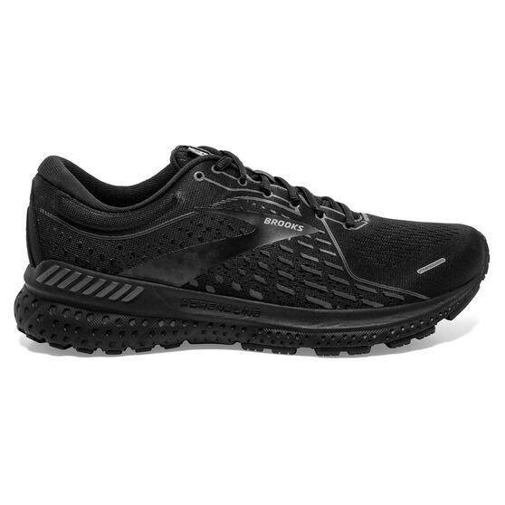 Brooks Adrenaline GTS 21 2E Mens Running Shoes Black/Grey US 13, Black/Grey, rebel_hi-res