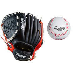 Rawlings LHT 9in Glove and Ball Set, , rebel_hi-res