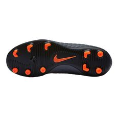 Nike Hypervenom Phantom III Club FG Junior Football Boots Grey / White US 11 Junior, Grey / White, rebel_hi-res