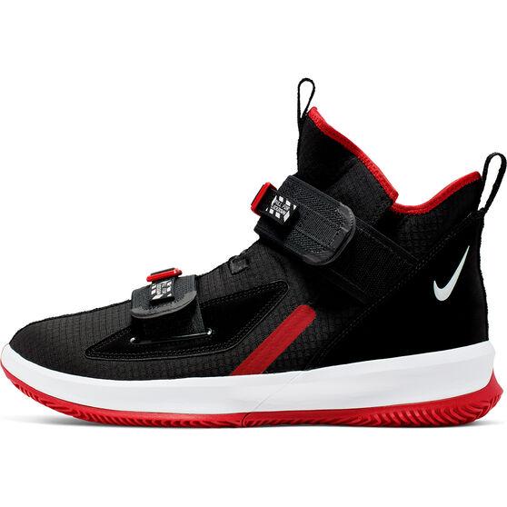 Nike LeBron Soldier XIII SFG Mens Basketball Shoes, Black / White, rebel_hi-res