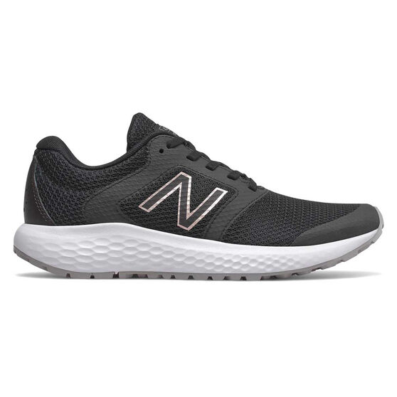New Balance 420 D Womens Running Shoes, Black / White, rebel_hi-res