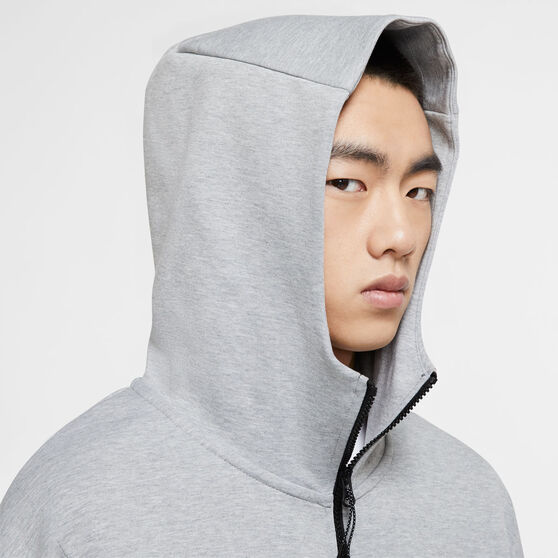 Nike Mens Sportswear Tech Fleece Full-Zip Hoodie, Grey, rebel_hi-res