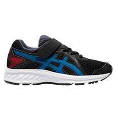 Asics Jolt 2 Kids Running Shoes Black/Blue US 11, , rebel_hi-res