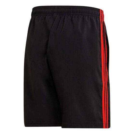 adidas Mens Essentials 3-Striped Chelsea 7in Shorts, Black, rebel_hi-res