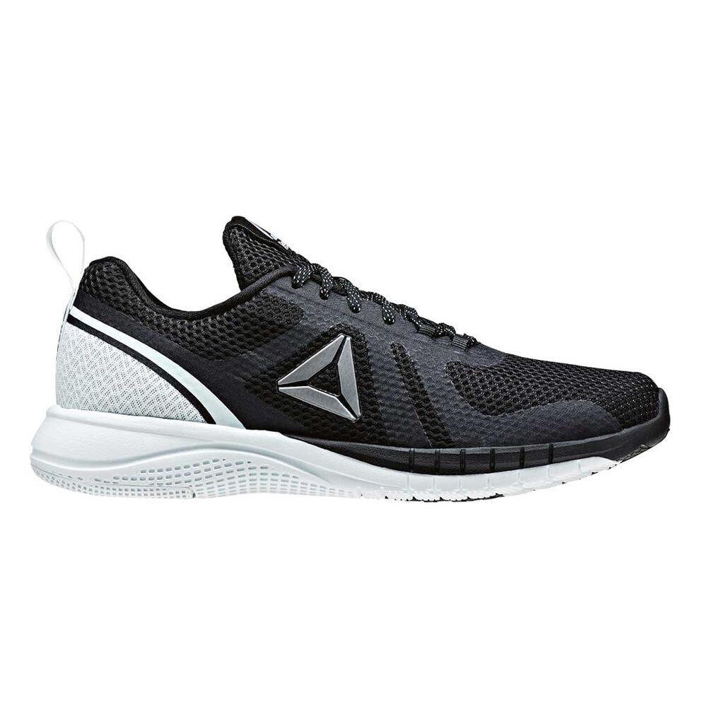 Reebok Print Run 2.0 Womens Running Shoes Black   Blue US 7.5 ... a7ed72d49