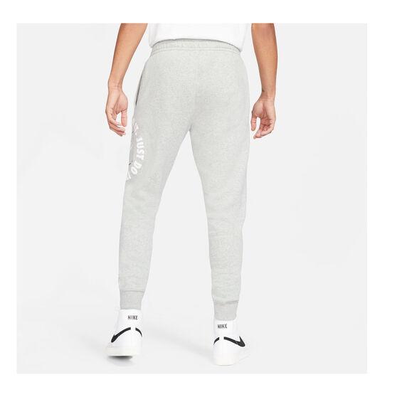 Nike Mens Sportswear Just Do It Fleece Pants, Grey, rebel_hi-res