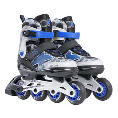 Goldcross GXC225 Inline Skates Blue US 3-6, Blue, rebel_hi-res