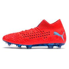 Puma Future 19.1 Netfit Mens Football Boots Red / Blue US 7, Red / Blue, rebel_hi-res