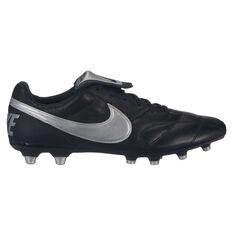 online store 884a5 58447 Nike Premier II Mens Football Boots Black   Silver US Mens 7   Womens 8.5,