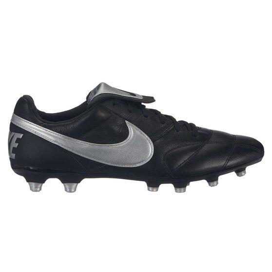 Nike Premier II Mens Football Boots, Black / Silver, rebel_hi-res