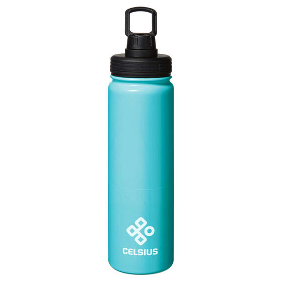 Celsius Stainless Insulated 650ml Water Bottle Blue 650mL, Blue, rebel_hi-res