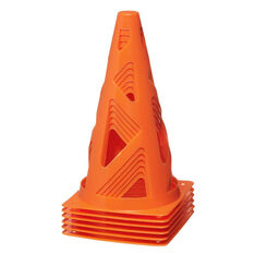 Zenith Orange Collapsible Witches Hat 6 Pack, , rebel_hi-res