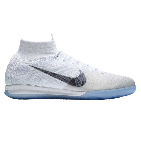 035b08a97 Nike Mercurial Superflyx VI Elite Mens Indoor Soccer Shoes White / Grey US  8, White