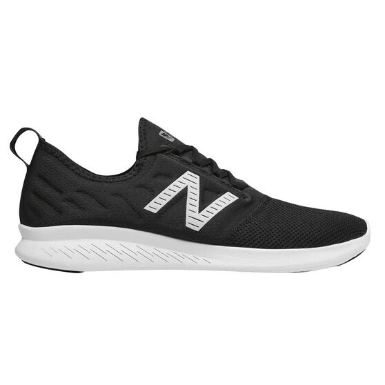 New Balance FuelCore Coast v4 Mens Running Shoes, Black, rebel_hi-res