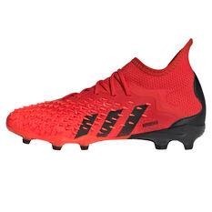 adidas Predator Freak .1 Kids Football Boots Red US 11, Red, rebel_hi-res