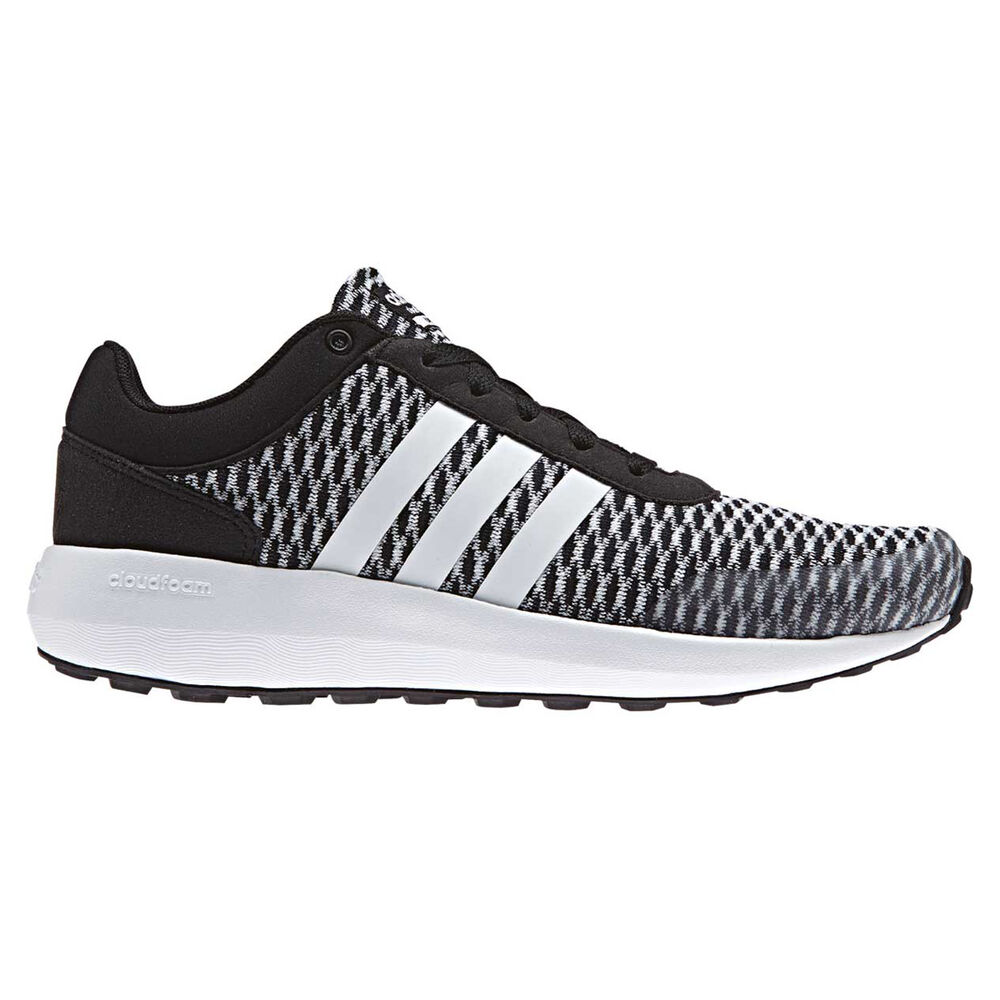 huge selection of f7fef db842 adidas Cloudfoam Race Womens Casual Shoes Black  Grey US 6, Black  Grey,