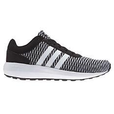 adidas Cloudfoam Race Womens Casual Shoes Black / Grey US 6, Black / Grey, rebel_hi-res