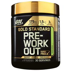 Optimim Nutrition Gold Standard Green Apple Pre Workout 30 Serves, , rebel_hi-res