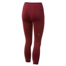 Ell & Voo Womens Kara Pocket 7/8 Tights Fig XS, Fig, rebel_hi-res