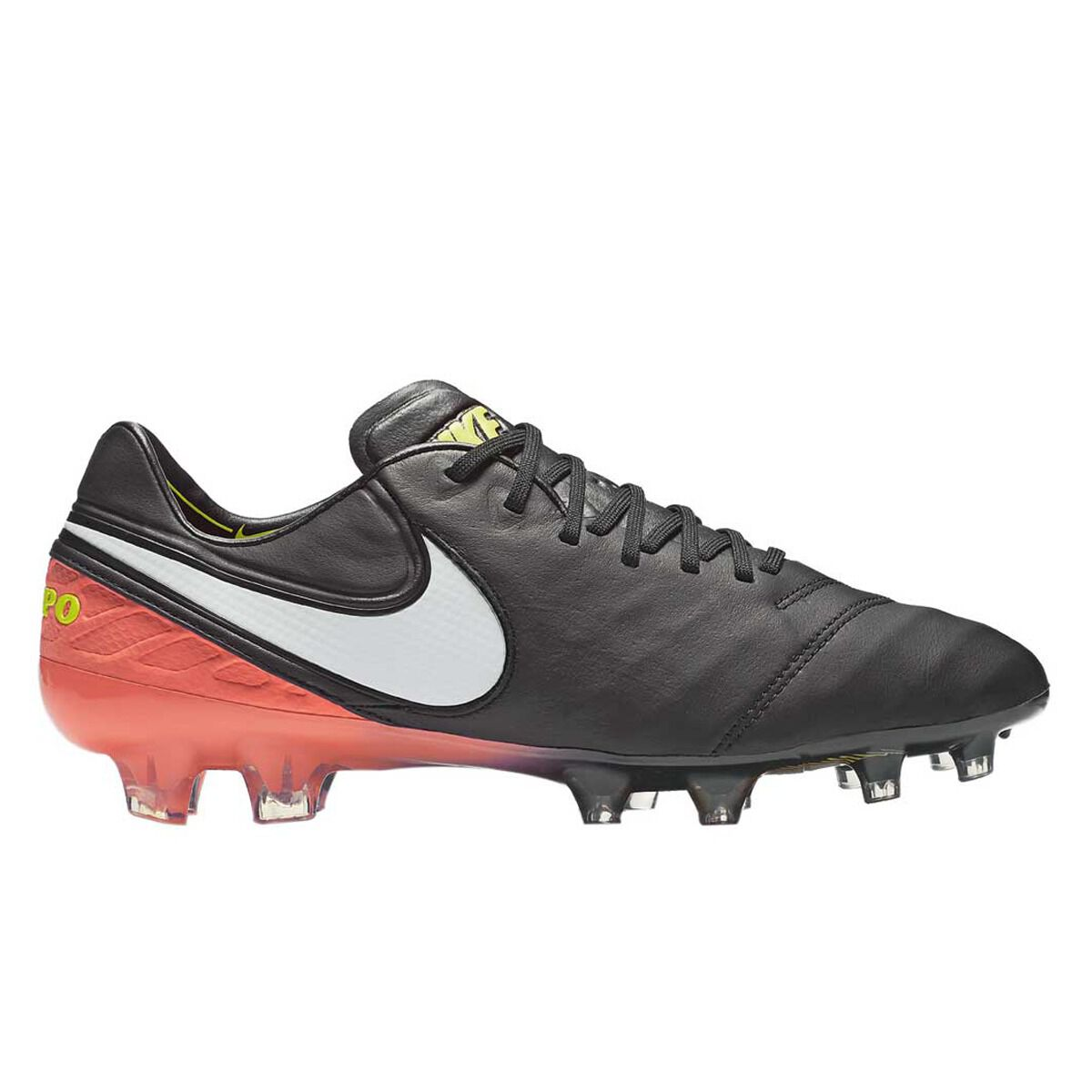 720d758a7c8b ... orange size 9 coupon code for nike tiempo legend vi mens football boots black  white us 9.5 adult black ...