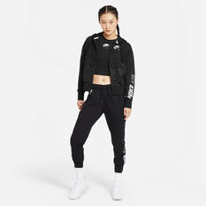 Nike Air Womens Fleece Pants Black XS, Black, rebel_hi-res