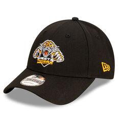 Wests Tigers New Era Authentic Core 9FORTY Cap, , rebel_hi-res