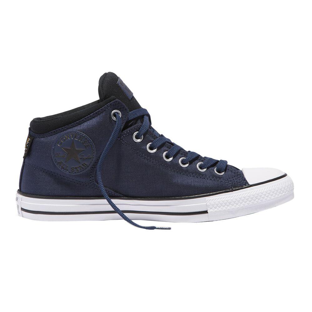 0eda633734a2 Converse Chuck Taylor All Star High Street Mens Casual Shoes Blue   Black US  7